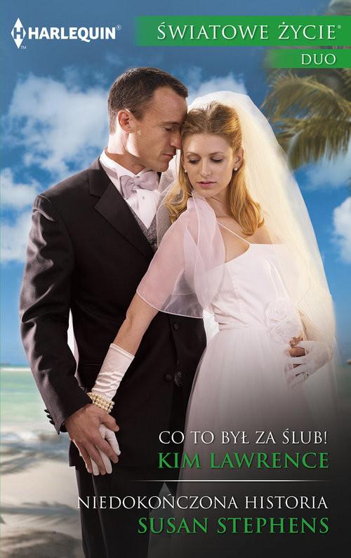 okładka Co to był za ślub, Książka | Kim Lawrence