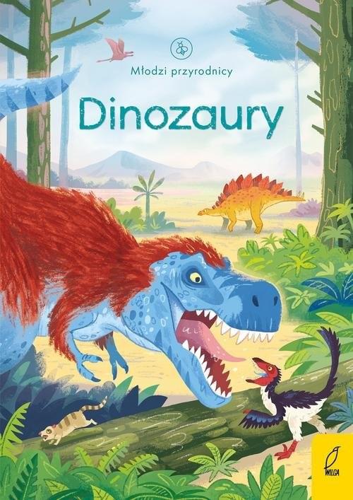 okładka Młodzi przyrodnicy Dinozauryksiążka      Bone Emily