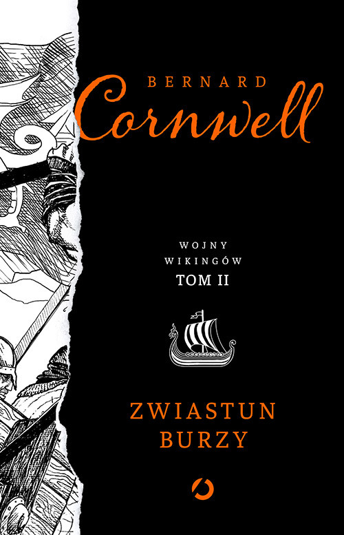 okładka Zwiastun burzy, Książka | Bernard Cornwell