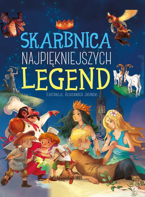 okładka Skarbnica najpiękniejszych legend, Książka |