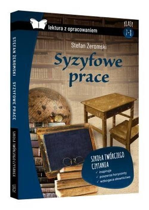 okładka Syzyfowe prac Lektura z opracowaniem, Książka   Żeromski Stefan