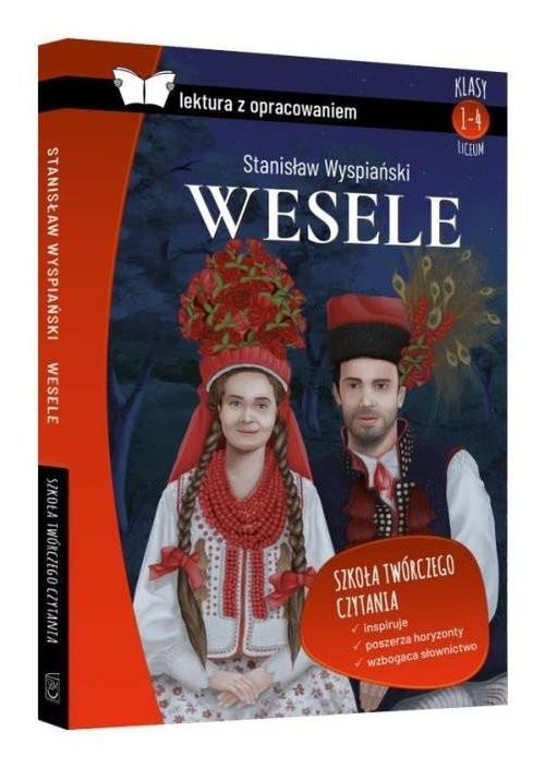 okładka Wesele Lektura z opracowaniem, Książka | Wyspiański Stanisław