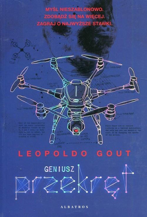 okładka Geniusz Przekręt, Książka | Gout Leopoldo