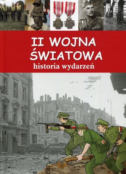 okładka II wojna światowa Historia wydarzeń, Książka | Artur Jabłoński