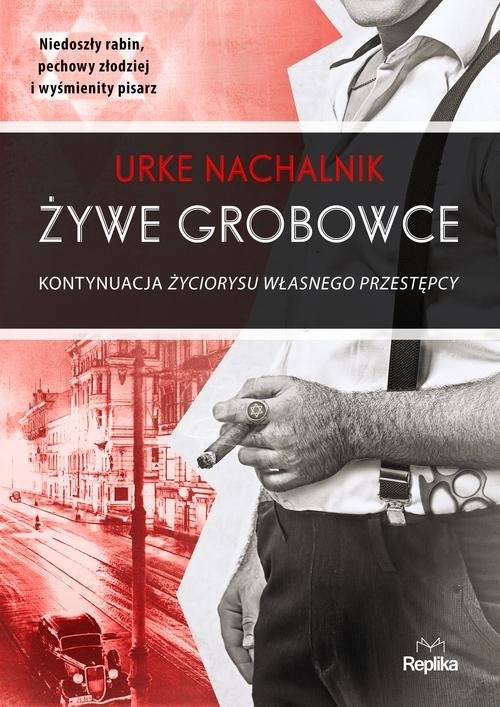 okładka Żywe grobowce, Książka | Nachalnik Urke