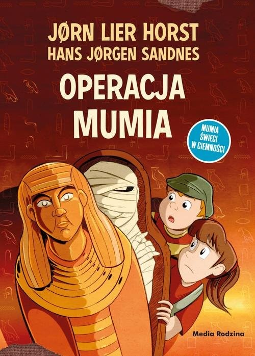 okładka Operacja Mumia, Książka | Horst Jorn Lier