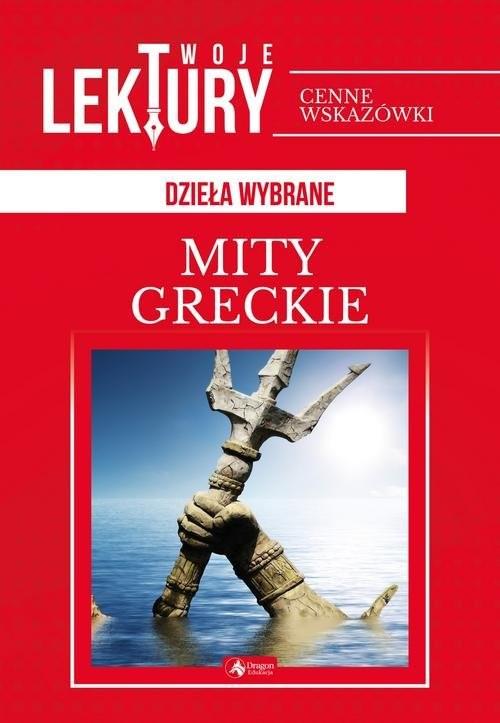 okładka Mity greckie, Książka |