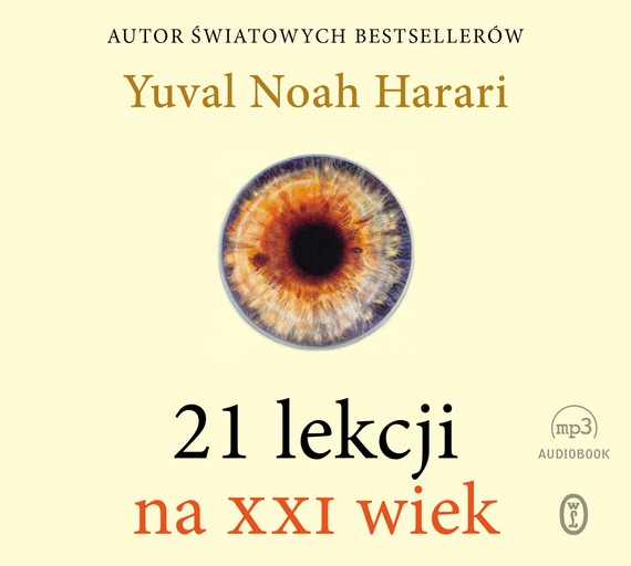 okładka 21 lekcji na XXI wiekaudiobook   MP3   Yuval Noah  Harari