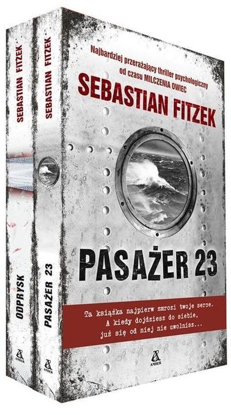 okładka Pasażer 23 / Odprysk Pakiet, Książka | Fitzek Sebastian