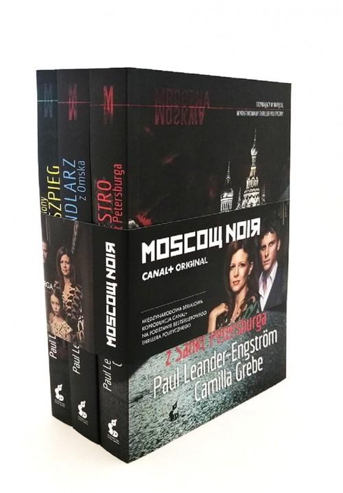 okładka Mroczna Moskwa Trylogia Maestro z Sankt Petersburga, Handlarz z Omska, Uśpiony szpieg, Książka | Camilla Grebe, Paul Leander-Engström