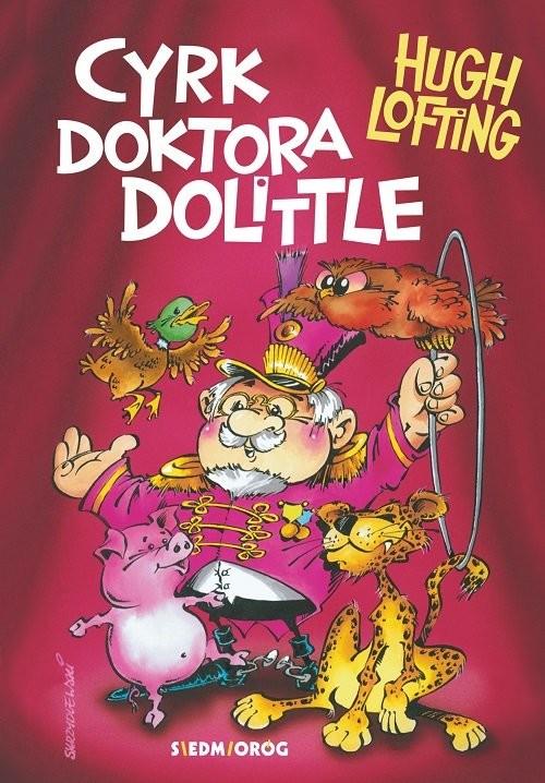 okładka Cyrk doktora Dolittle'a, Książka | Hugh Lofting