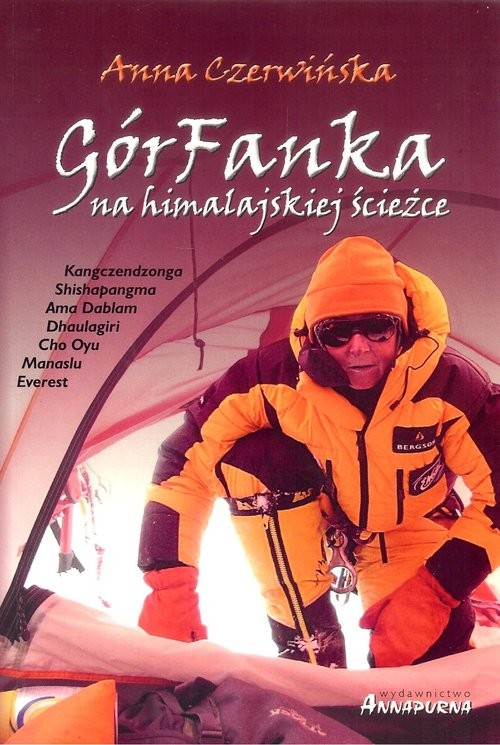 okładka GórFanka na himalajskiej ścieżce, Książka | Czerwińska Anna