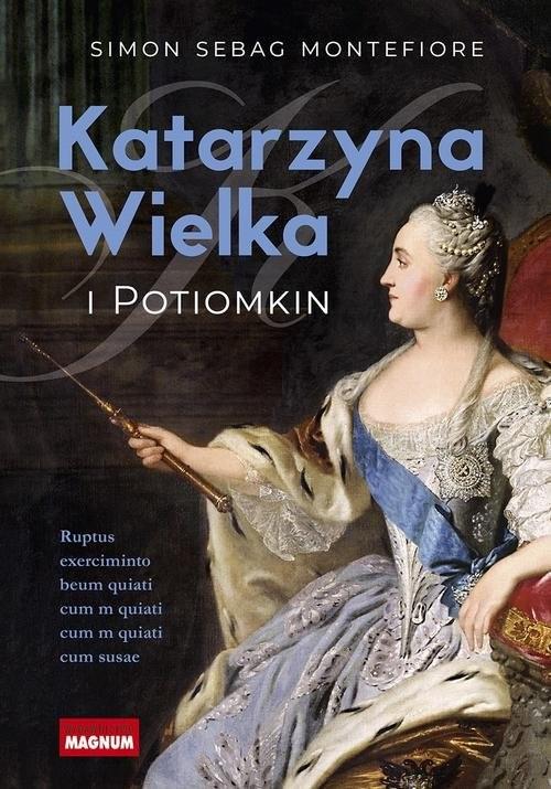 okładka Katarzyna Wielka i Potiomkin, Książka   Simon Sebag Montefiore