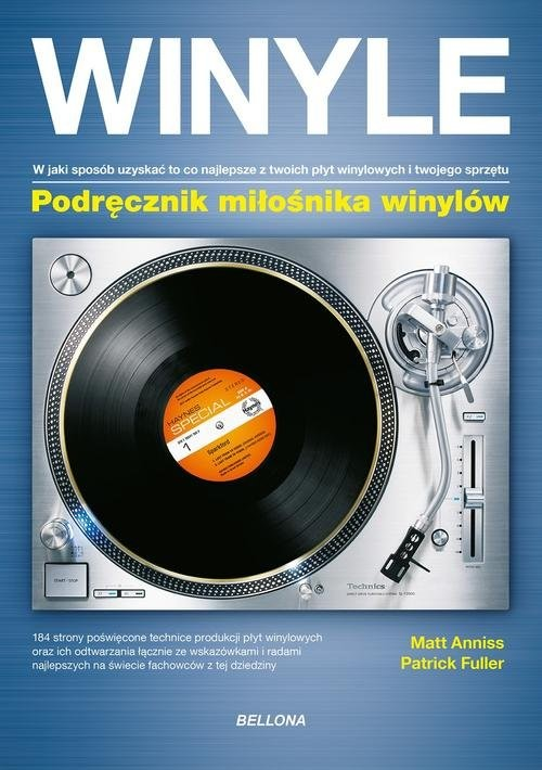 okładka Winyle Podręcznik miłośnika winylów, Książka | Anniss Matt