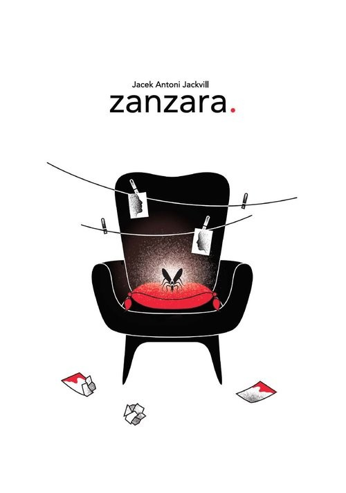 okładka Zanzara, Książka   Jacek Antoni Jackvill