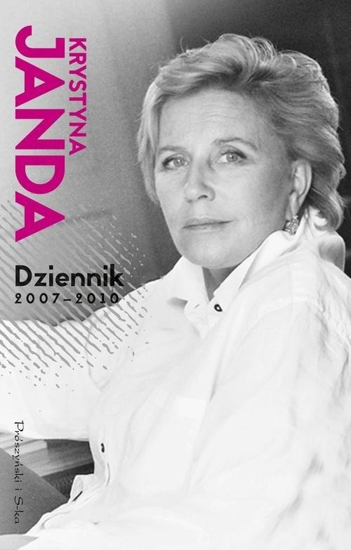 okładka Dziennik 2007-2010, Książka | Janda Krystyna
