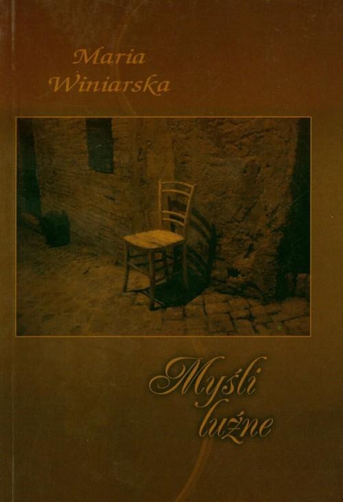 okładka Myśli luźne, Książka | Winiarska Ewa