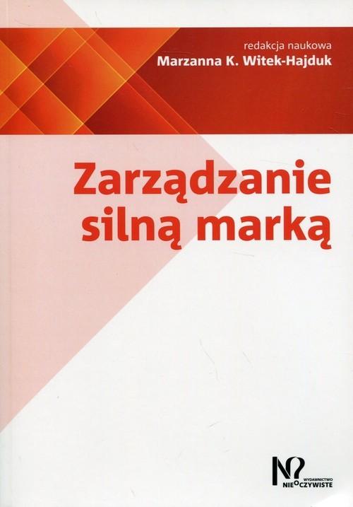 okładka Zarządzanie silną marką, Książka  