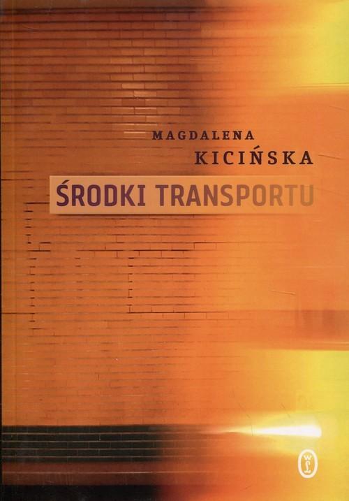 okładka Środki transportu, Książka | Kicińska Magdalena