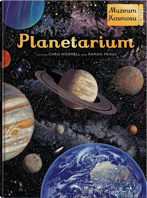 okładka Planetarium, Książka | Prinja Raman