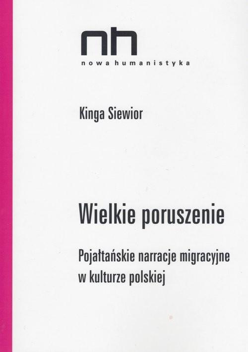 okładka Wielkie poruszenie, Książka | Siewior Kinga