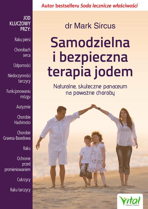 okładka Samodzielna i bezpieczna terapia jodem, Książka | Sircus Mark