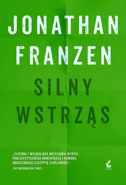 okładka Silny wstrząs, Książka | Jonathan Franzen
