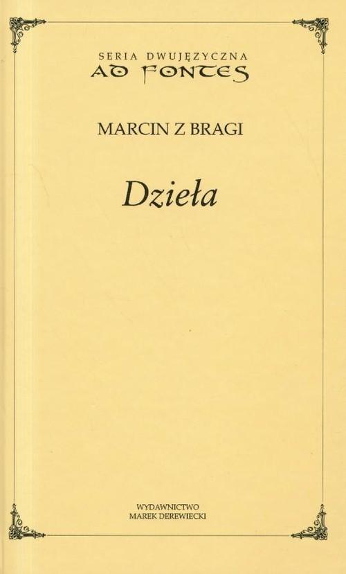 okładka Dzieła Marcin z Dragi, Książka |