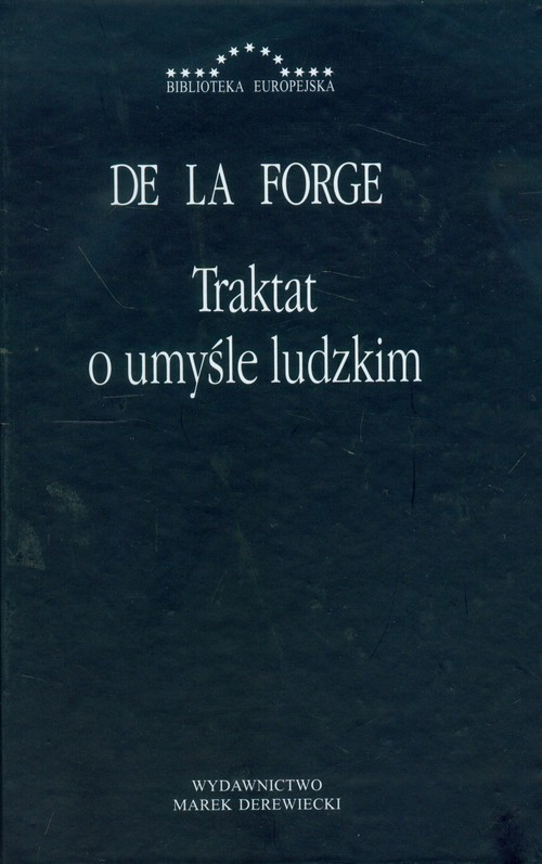 okładka Traktat o umyśle ludzkim, Książka | De La Forge