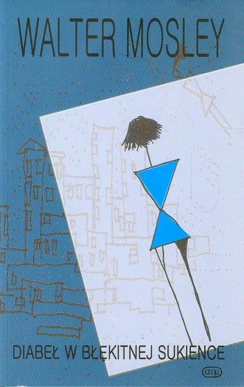 okładka Diabeł w błękitnej sukience, Książka   Mosley Walter