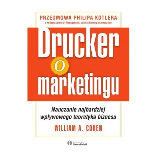 okładka Drucker o marketingu, Książka   Cohen William