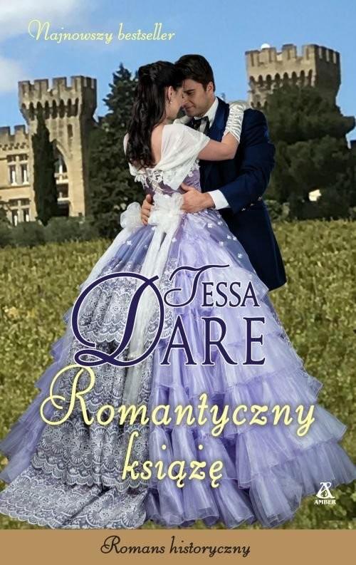 okładka Romantyczny książę, Książka   Tessa Dare
