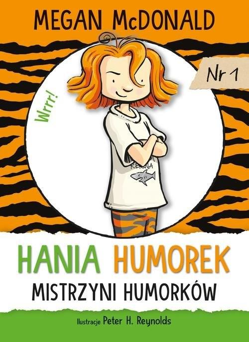 okładka Hania Humorek Mistrzyni humorków, Książka | McDonald Megan