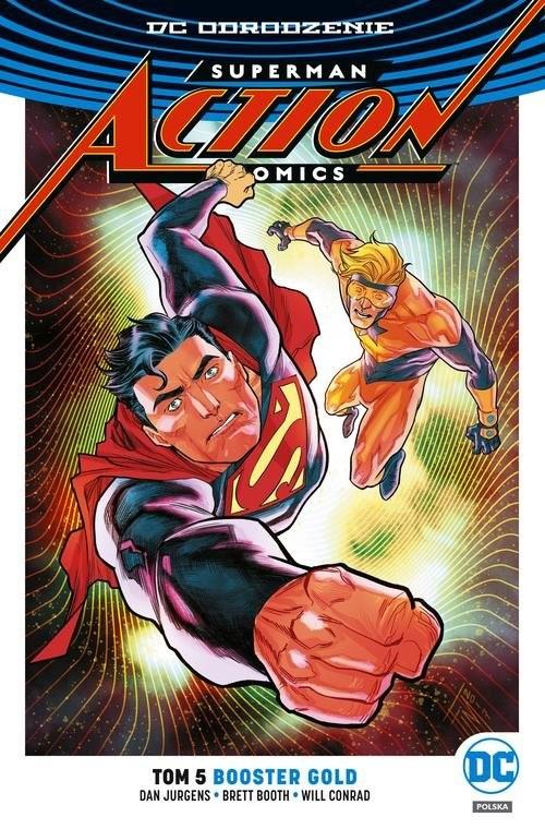 okładka Superman Action Comics Tom 5, Książka | Jurgens Dan