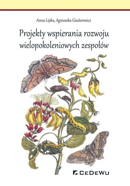 okładka Projekty wspierania rozwoju wielopokoleniowych zespołów, Książka | Anna Lipka, Agnieszka Giszterowicz