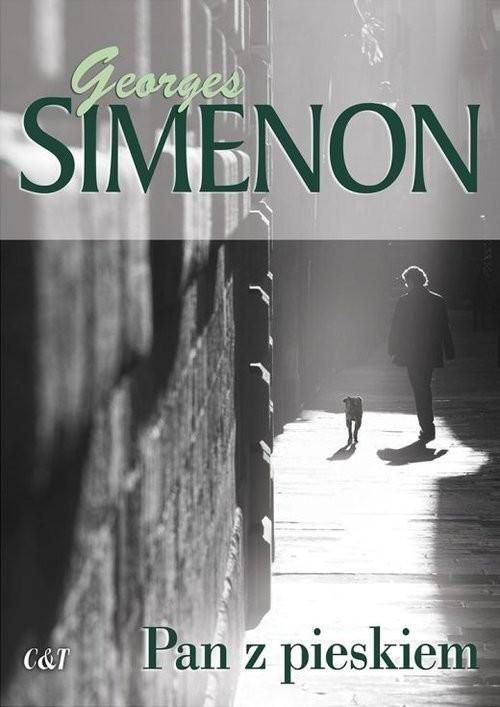 okładka Pan z pieskiem, Książka | Simenon Georges
