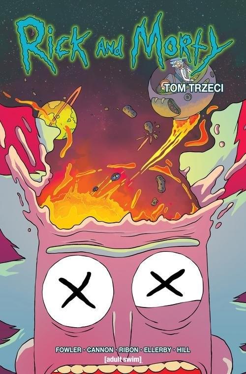 okładka Rick i Morty Tom 3książka      Fowler Tom