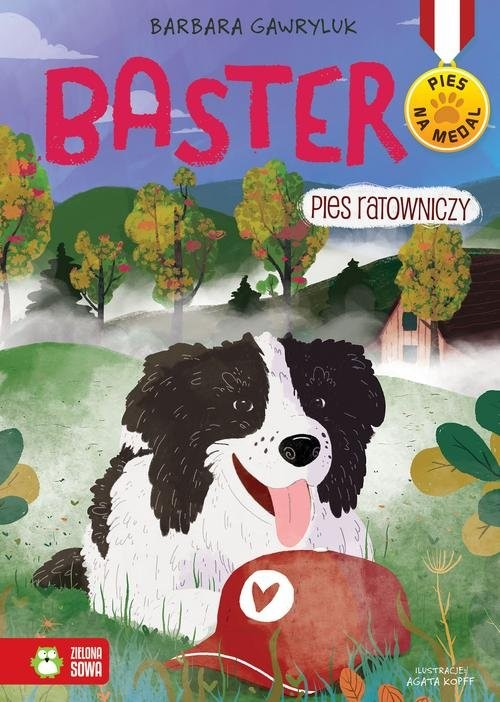okładka Pies na medal Baster Pies ratowniczy Tom 6, Książka | Barbara  Gawryluk