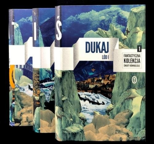 okładka Lód Tom 1-3 Pakiet, Książka | Dukaj Jacek