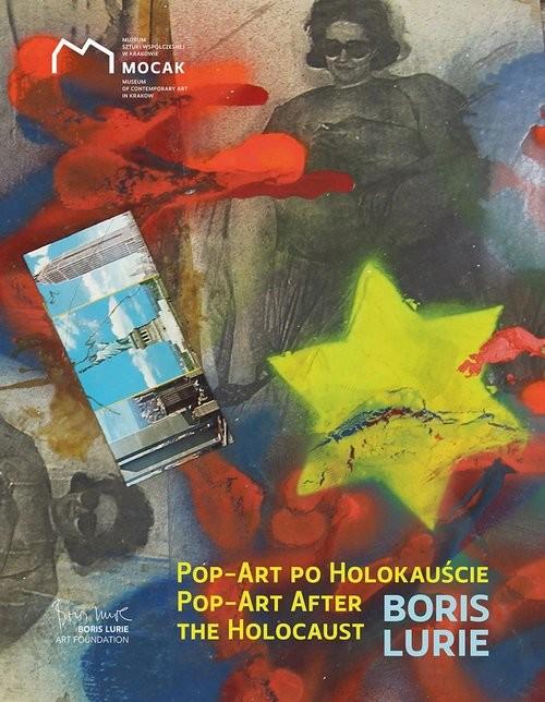 okładka Pop-art po Holokauście Boris Lurieksiążka     