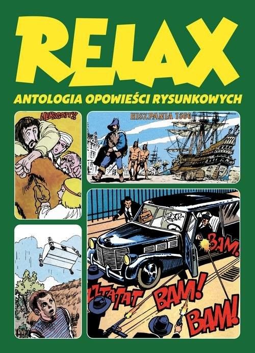 okładka Relax Antologia opowieści rysunkowych Tom 3książka     