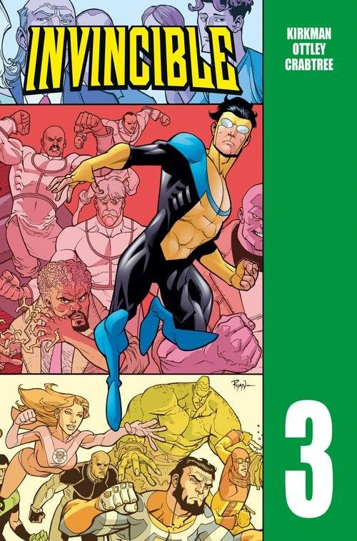 okładka Invincible Tom 3książka      Robert Kirkman
