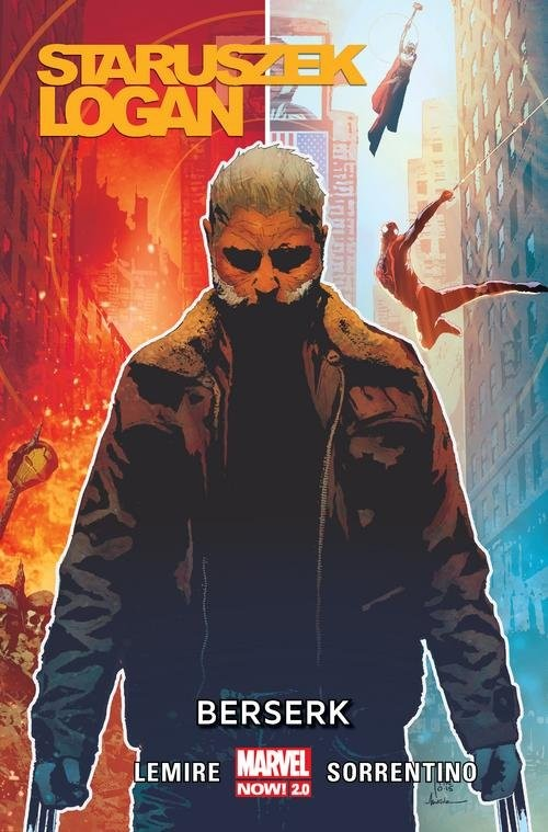 okładka Staruszek Logan Tom 2 Berserk, Książka   Lemire Jeff