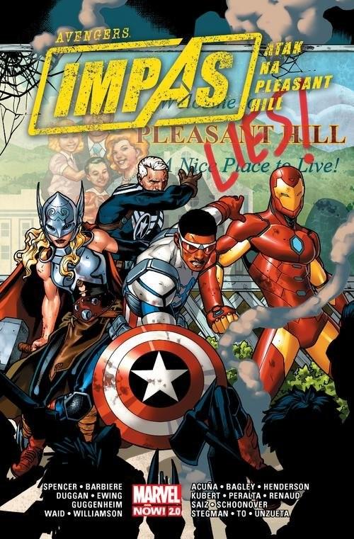 okładka Avengers Impas Atak na Pleasant Hill, Książka | Nick Spencer, Frank Barbiere