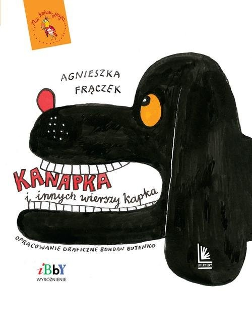 okładka Kanapka i innych wierszy kapka, Książka | Frączek Agnieszka