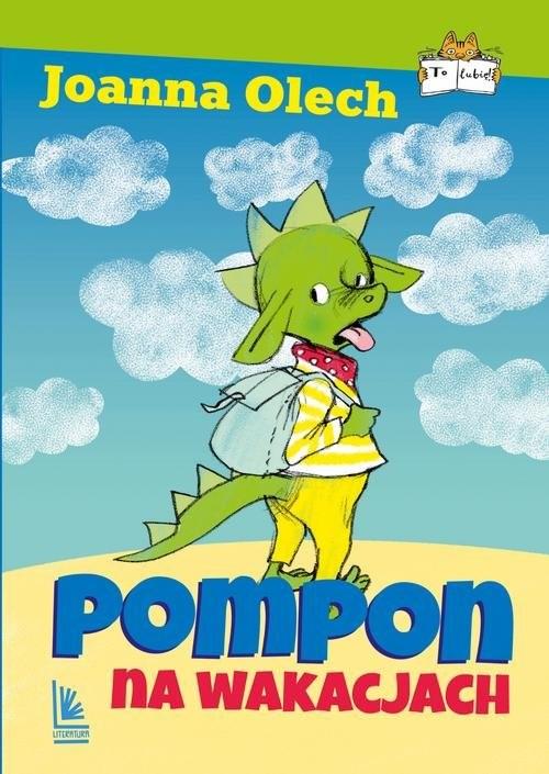 okładka Pompon na wakacjach, Książka | Joanna Olech