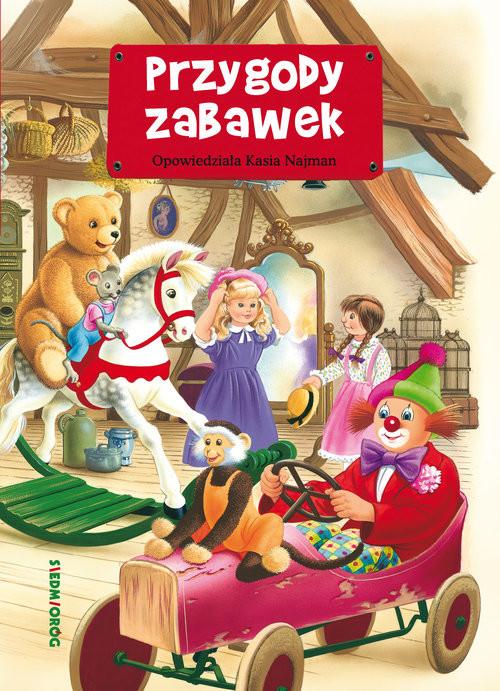 okładka Przygody zabawek, Książka | Najman Katarzyna