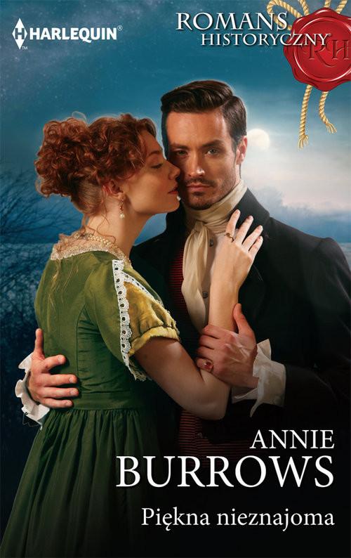 okładka Piękna nieznajoma, Książka | Annie Burrows