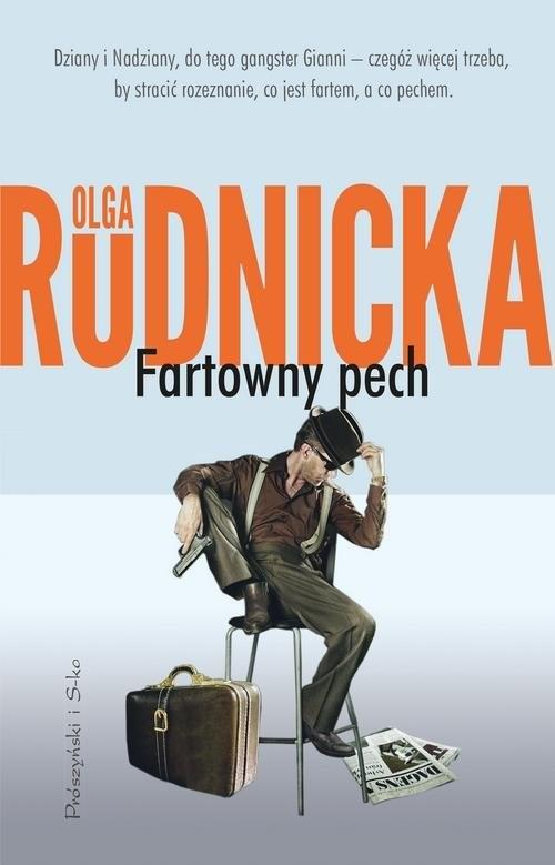 okładka Fartowny pech, Książka | Olga Rudnicka
