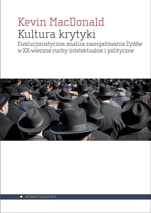 okładka Kultura krytyki, Książka | MacDonald Kevin
